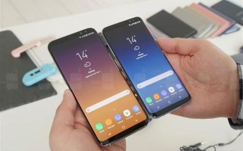 三星全球售出500万部Galaxy S8和Galaxy S8 Plus手机