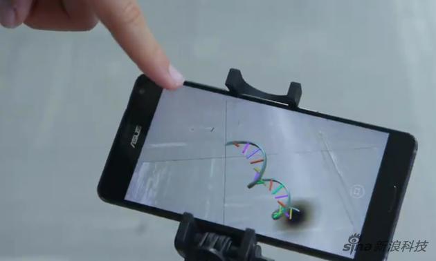 谷歌演示VR的实际作用