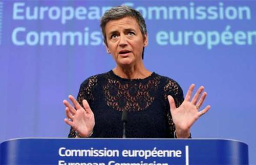 歐盟競爭事務專員瑪格麗特-維斯塔格