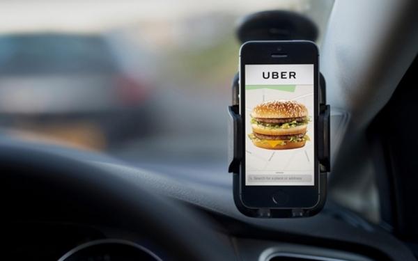 UberEATS在美国可以送汉堡 但送餐费比汉堡本身还贵