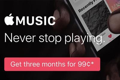 苹果更改三个国家的Apple Music试用期收费政策