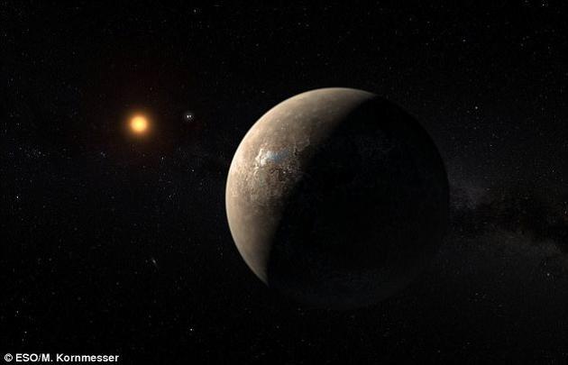 比邻星B发现于2016年8月,这是环绕比邻星运行的一颗类地行星。比邻星距离地球仅4.2光年,是离我们太阳系最近的一颗恒星。