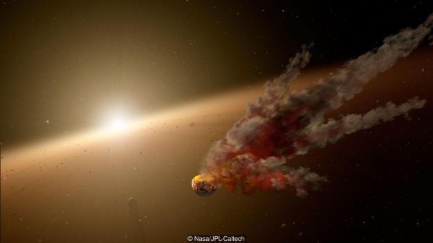 恒星KIC 8462852的亮度一度下降了22%。