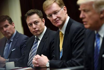 """马斯克:美国参与巴黎气候协议 我""""谨慎乐观"""""""