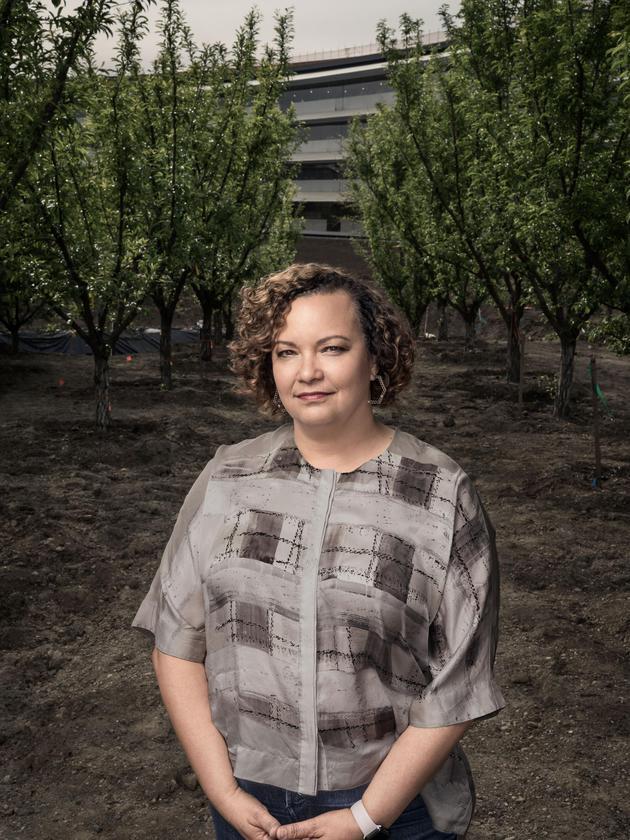 """""""史蒂夫的本意是打破公司内部和外部的界线,"""" 苹果公司的环境负责人丽莎·杰克逊说:""""它好像能唤醒你的感觉。"""""""