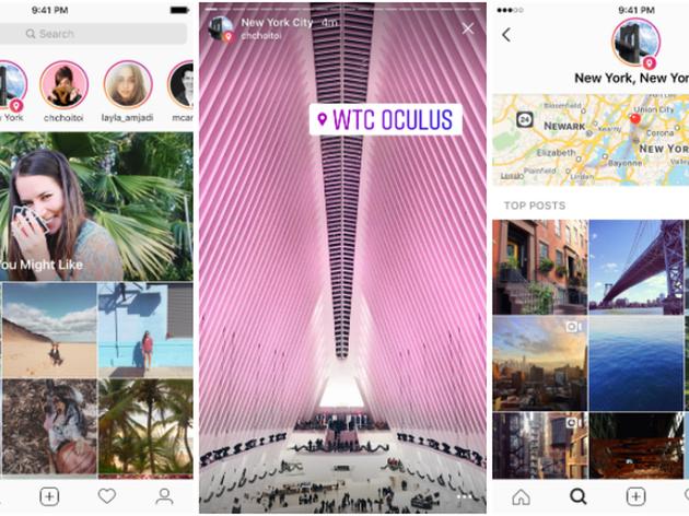 紧跟Snapchat:Instagram推基于位置的Stories功能