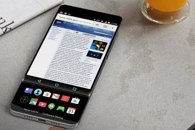 LG V30手机首曝:辅屏结合滑盖,实用性大提升