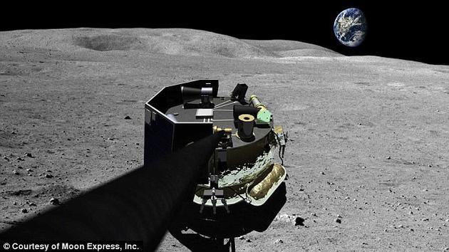 """目前美国宇航局呼吁美国商业公司提交太空发射和登陆服务的详细报告内容,计划最早于2018年商业公司协助运载负荷抵达月球。在过去几年里,一些商业公司展开激烈竞争,研究登陆月球的探测器,其中包括图中的""""月球快车""""。"""