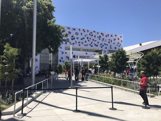 今年WWDC会场