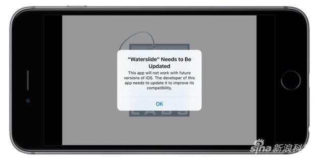 iOS 10中对32位应用的提示