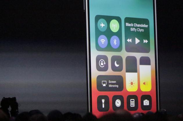 iOS 11控制中心