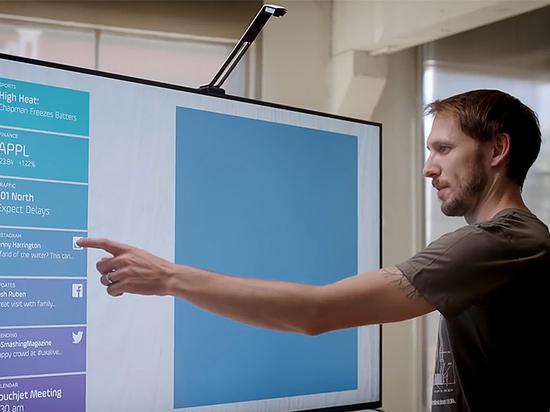 未来触手可及!黑科技让你的电视秒变触控屏