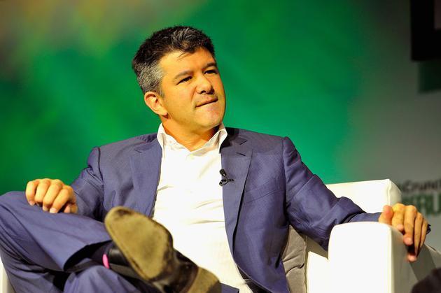 Uber CEO特拉维斯·卡兰尼克
