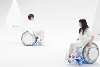 谁家电动轮椅还带扬声器和鼓?也只有YAMAHA干得出来
