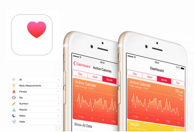 (Apple Health app 图自:healthtechsydney)