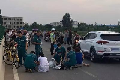 痛心!郑州12岁男孩骑小黄车摔倒 抢救无效死亡