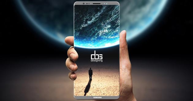 三星Galaxy Note 8假想图