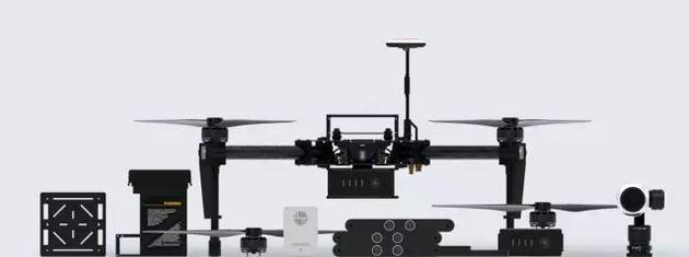 尺寸更大的Matrica100无人机及其附属配件
