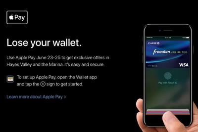 """为了推广Apple Pay 苹果说""""丢掉你的钱包"""""""