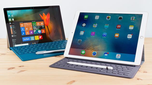 Surface Pro和iPad Pro
