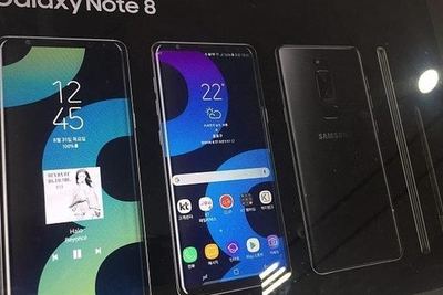"""三星Note 8""""真机""""海报曝光:果然没屏下光学指纹"""