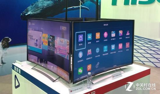 液晶电视一直占据着优势