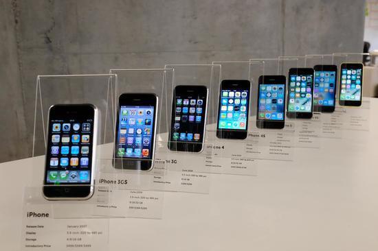 iOS系统随iPhone升级而不断升级