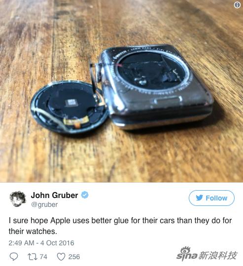 出现问题的手表