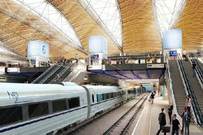 英国天价高铁引热议:坐高铁在发达国家是件奢侈的事