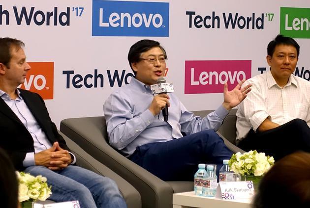 杨元庆谈AI:三年投入12亿美元 堵上身家性命去押注