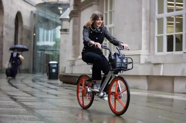 共享单车进入海外