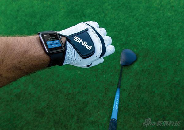 高尔夫设备上的传感器