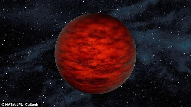 """一项新研究指出,在恒星之间的黑暗地带,也许漂泊着许多颗与地球大小相仿、可能宜居的""""流浪行星""""。图为NASA提供的流浪行星概念图。"""