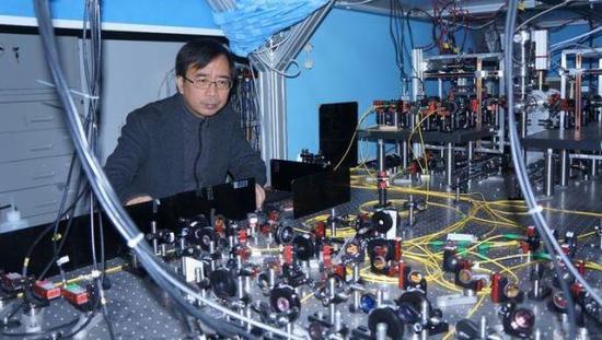 中国科学技术大学潘建伟院士。  上海观察 图