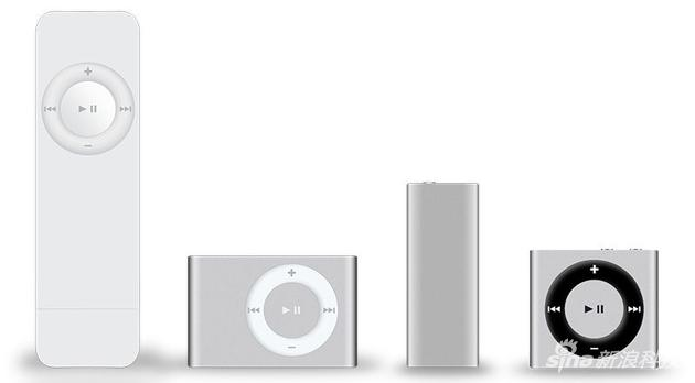 iPod shuffle是苹果的低价MP3产品