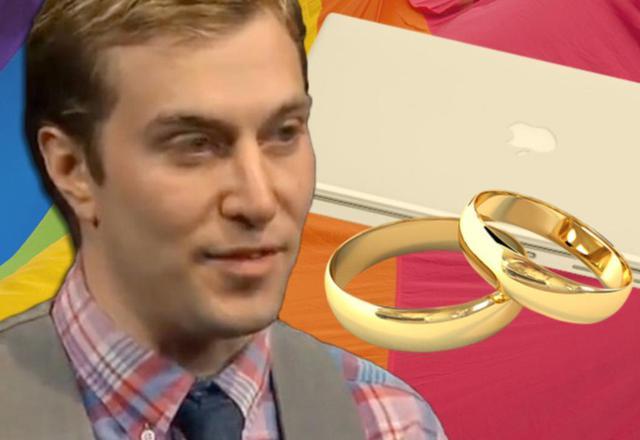 男子与苹果MacBook结婚并将面包店告了