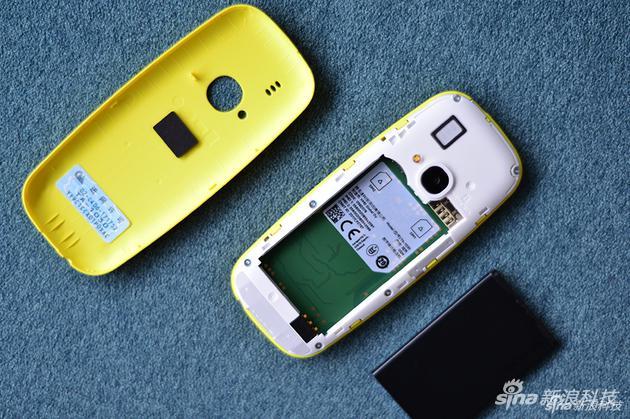 3310复刻版后开可拆卸,电池可分离