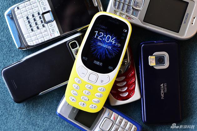 诺基亚手机承载不少人的回忆