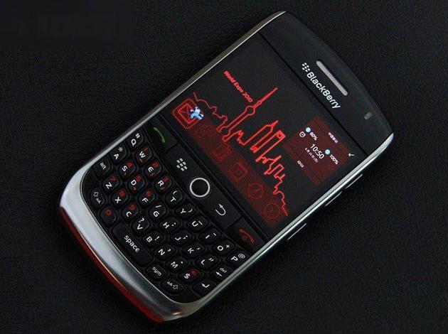 第一款来到中国的黑莓8910 Curve