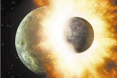 """""""大碰撞理论""""遭质疑,月球起源再次成谜"""