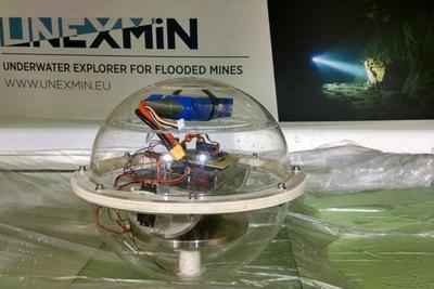 """""""寻宝""""机器人可深入水下矿山 探寻被遗忘的矿场"""