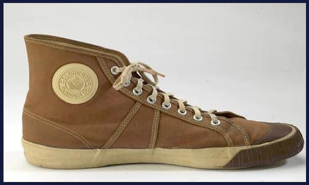 125岁的篮球鞋,这种橡胶技术是100多年前的