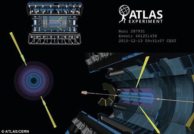 ATLAS实验项目的物理学家披露,他们已经观察到了光与光散射的直接证据。在这一过程中,光是在高能状态下与自身发生相互作用。
