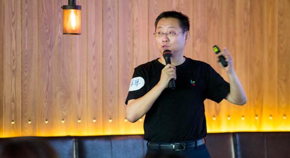 乐视网CEO梁军宣布发言