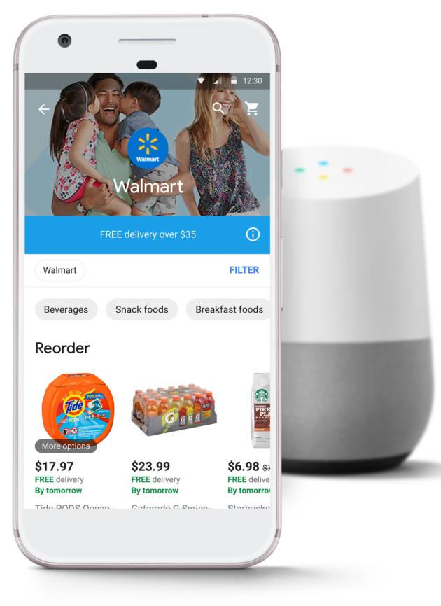 谷歌与沃尔玛组建电子商务联盟:对抗亚马逊 - 第1张  | 爱好网