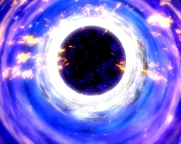 当黑洞质量和半径收缩,霍金辐射将逐渐增强,一旦衰减辐射超过生长速度,黑洞的温度和能量将快速衰减