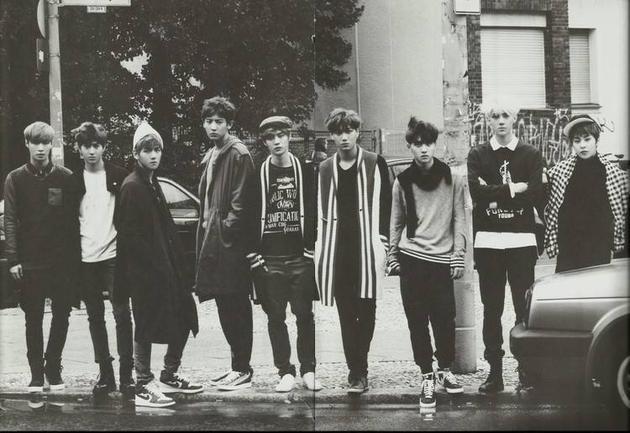 EXO现役成员