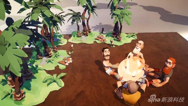 玩家可以扮演上帝的角色控制村民