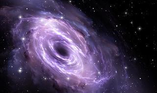 银河系中心附近发现中等黑洞