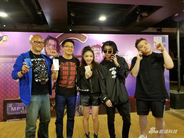 中国有嘻哈人气选手助阵